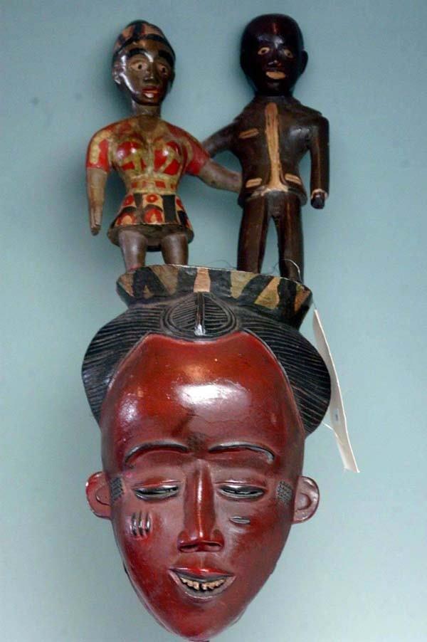 14: AFRICAN MASK - BAULE TRIBE