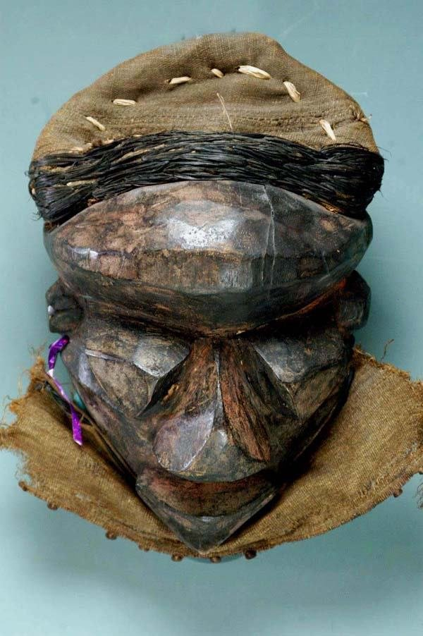 19: AFRICAN MASK - PENDE TRIBE