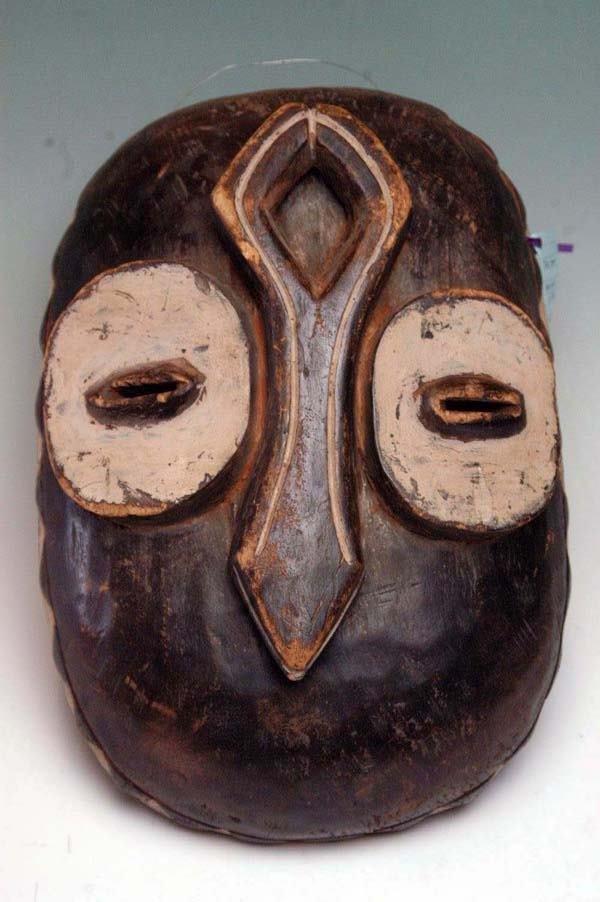 20: BWAMI SOCIETY OWL MASK - BEMBE TRIBE