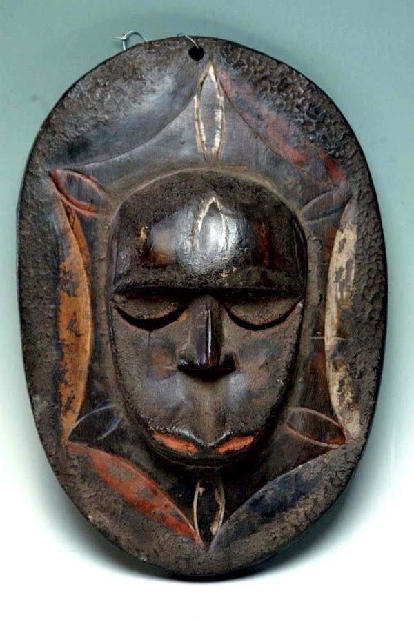 21: CIRCULAR MASK - EKET TRIBE NIGERIA
