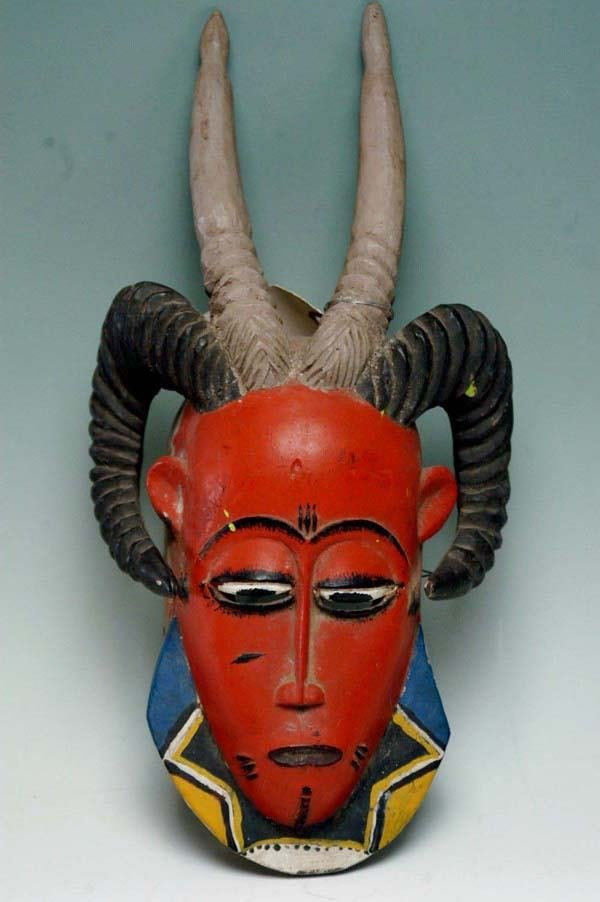 23: AFRICAN MASK - GURO TRIBE
