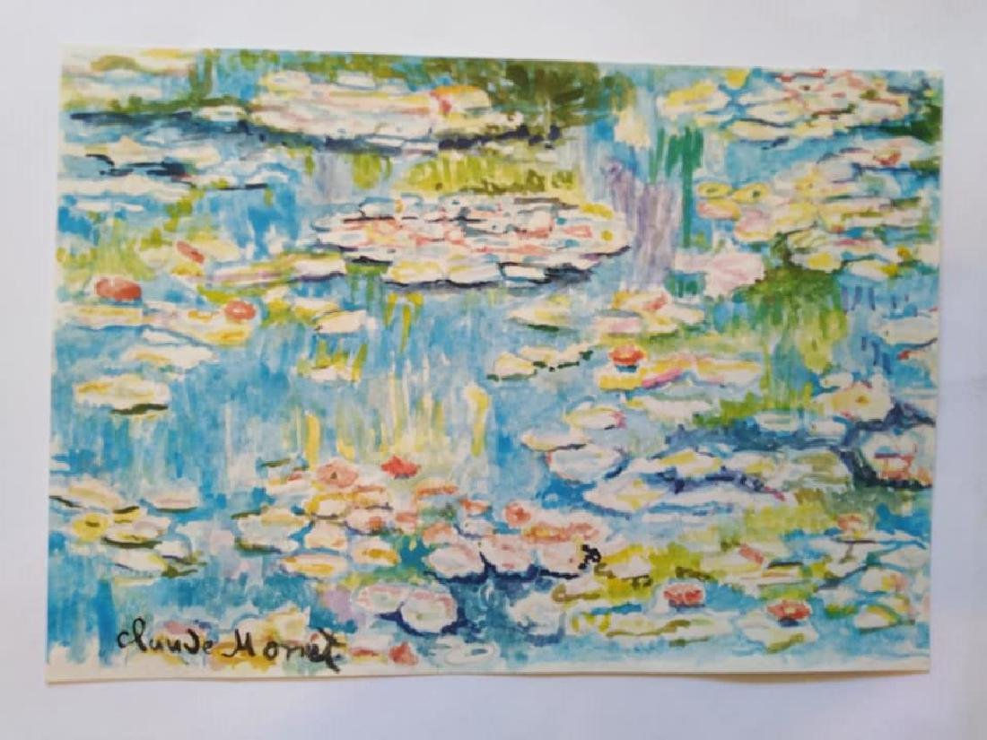 In the style of Claude Monet French (1840-1926)
