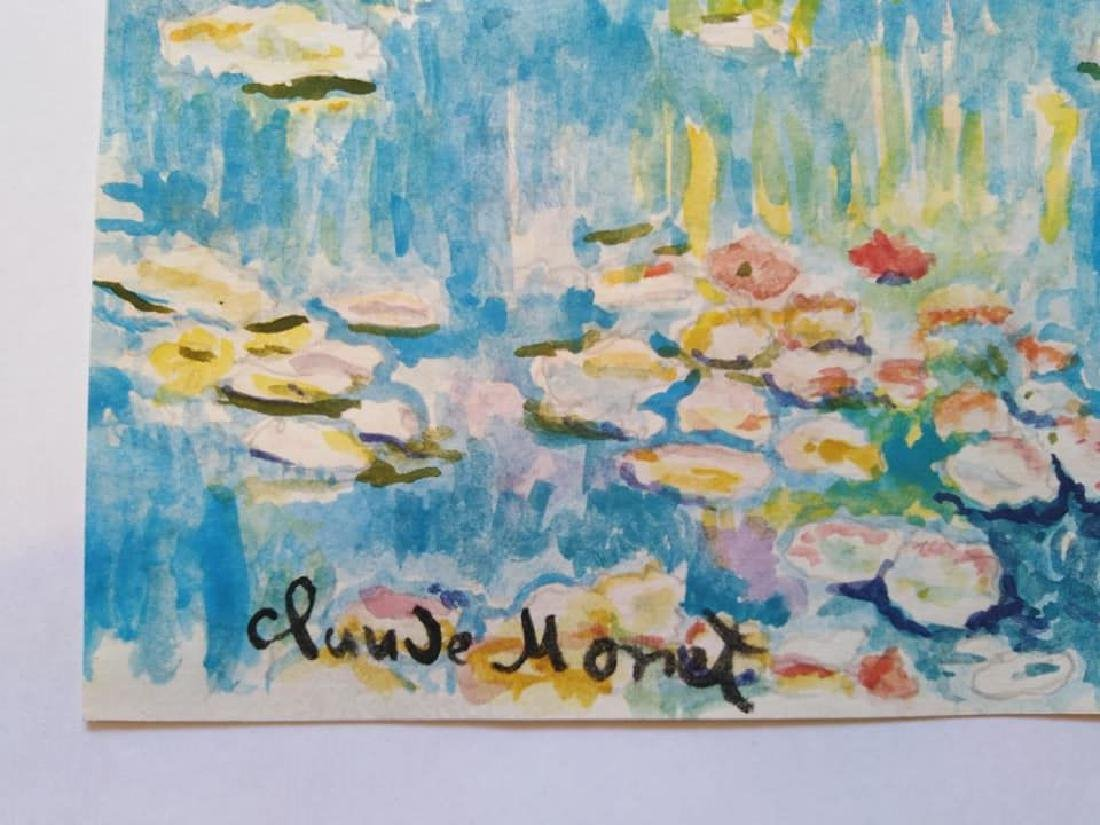 In the style of Claude Monet French (1840-1926) - 2