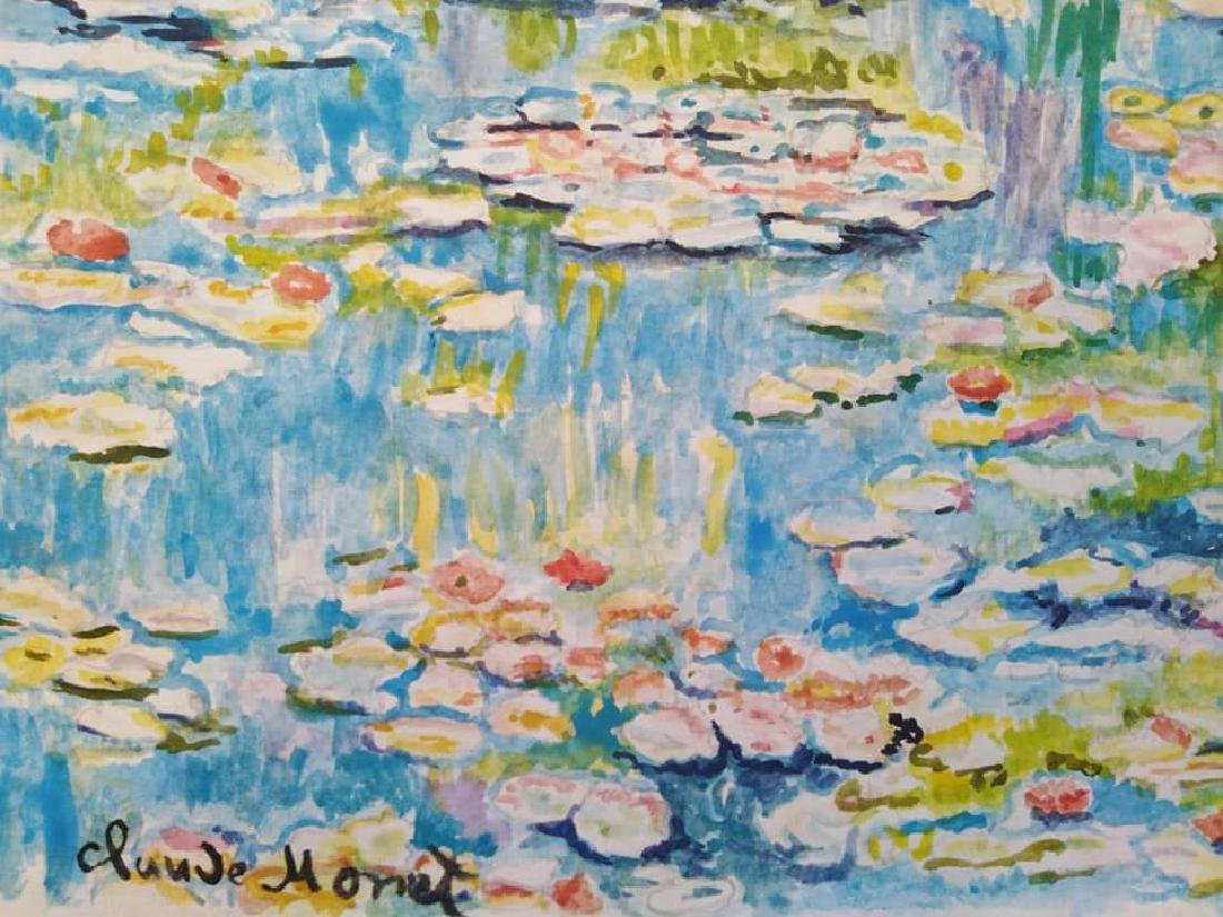 In the style of Claude Monet French (1840-1926) - 4