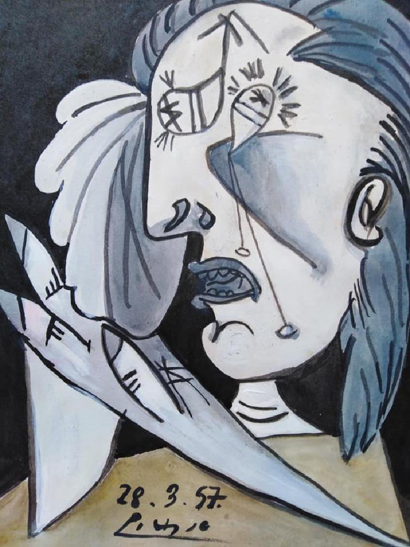 In the style of Pablo Picasso Spanish (1881-1973) - 2