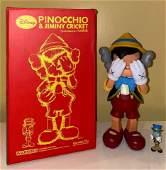 Kaws Pinocchio & Jiminy Cricket 2010