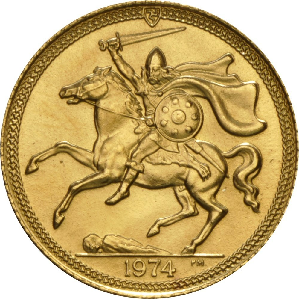 Isle of Man, Elizabeth II, gold Half-Sovereigns - 2