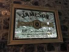 Jameson Irish whiskey advertising mirror 45 x 33