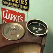 Cutty Shag and Jameson Irish Whiskey advertising