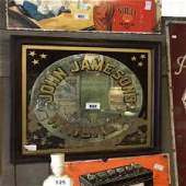 Early 20th C John Jameson Irish Whiskey advertising
