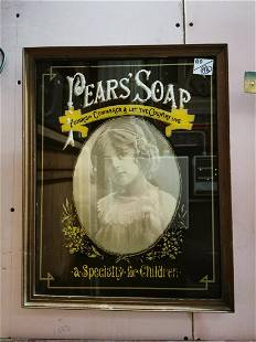 Pears Soap advertising mirror