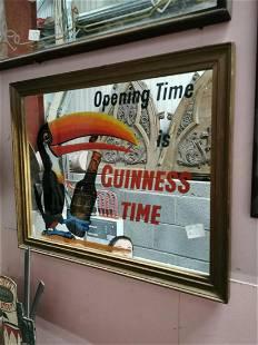 Guinness Time advertising mirror