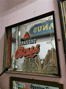 Draught Bass Advertising Mirror