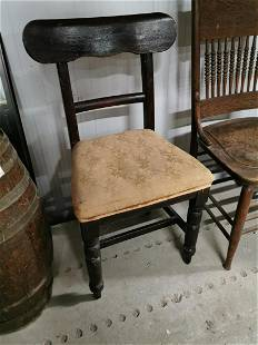 19th C Mahogany Dining Chair