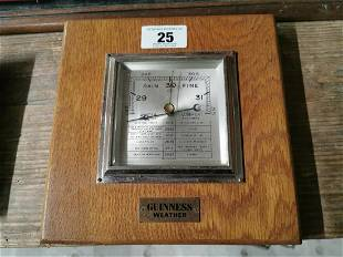 Guinness Weather Barometer