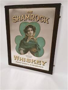 Extremely Rare The Shamrock Whiskey Irish advertising