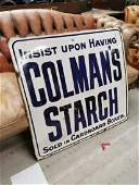 Colemans advertising Sign.