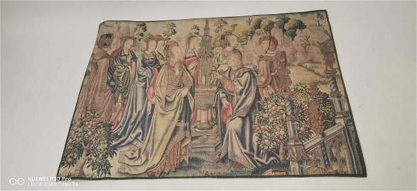 Wall hanging tapestry.