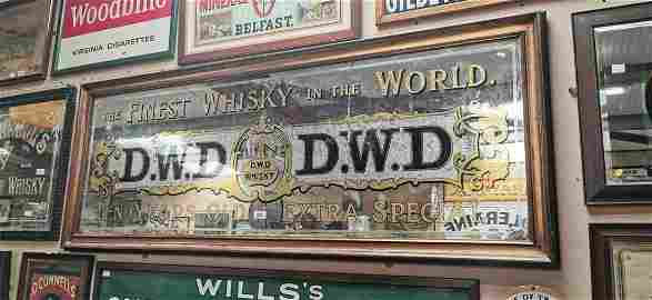 Extremely rare The Finest Whiskey In The World DWD