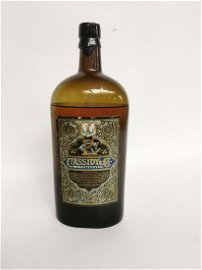 Extremely rare 1880's bottle of Cassidy & Co