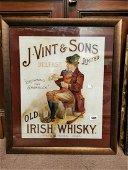 Very Rare J Vint & Sons Belfast advertisement.