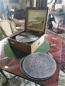19th. C. Kalliope symphonium music box.