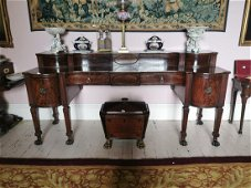 Exceptional quality William IV. Irish flamed mahogany