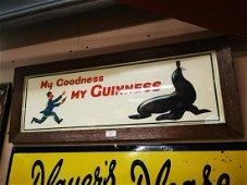 My Goodness My Guinness framed advertising print.