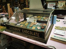 Cardbury's Chocolate Jubliee counter display cabinet.
