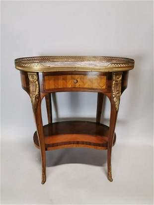 Edwardian kingwood side table.