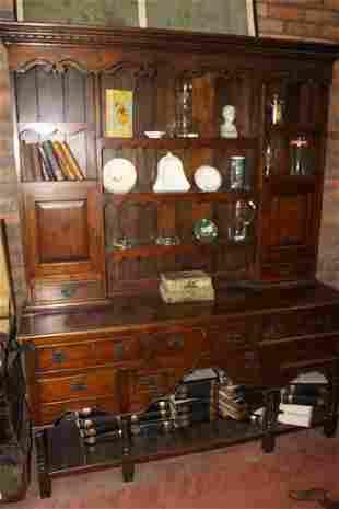 Oak Welsh dresser