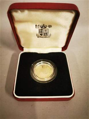 1983 Royal Mint Silver proof £1 coin