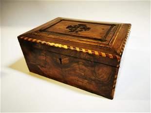 Victorian writing box.