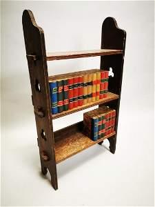 Set of early 20th C. oak bookshelves.