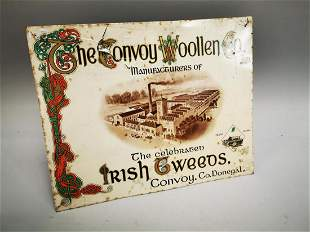 The Convoy Woollen Co. Ltd. advertising showcard.