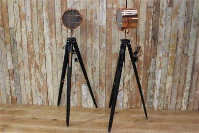 Pair of copper head spot lights