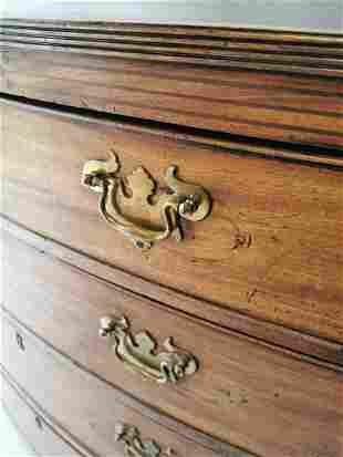 Georgian inlaid mahogany chest