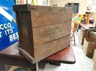 Dixon & Co. Dublin advertising box.