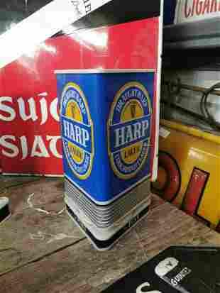 Harp Lager half pint advertising sign.