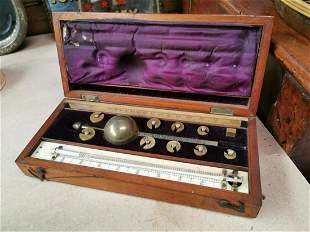 Early 20th C. Sike's hydrometer London.
