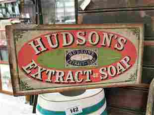 Hudson's Extract of Soap advertising.