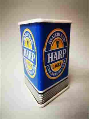 Harp Lager light up advertising sign.
