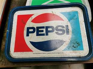 Pepsi Cola advertising drinks tray.