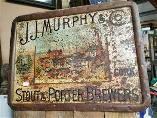 J J Murphy & Co. advertising sign.