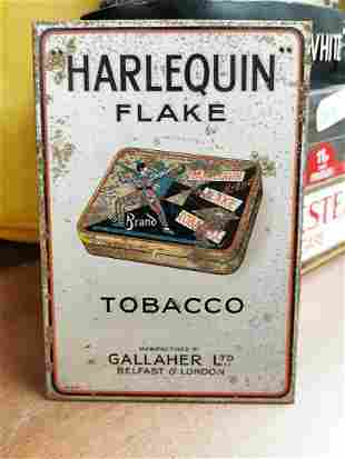 Gallaher tobacco advertising sign.