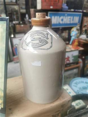 H. Gallwey & Co. Waterford advertising flagon.