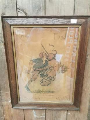 World War I Enlisting poster