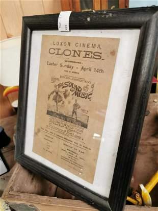 Luxor Cinema Clones advertising poster.