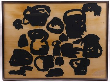 Philip Guston (1913-1980) Screenprint and Varnish in