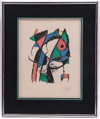 Joan Miro (Spanish / French 1893 - 1983) Signed